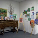 LAAC Gallery display of Art Contest Winners